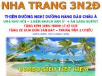 COMBO VMB + KS 5* NHA TRANG 3N2Đ