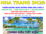 COMBO VMB + KS 4* NHA TRANG 3N2Đ