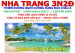 COMBO VMB + KS 3* NHA TRANG 3N2Đ