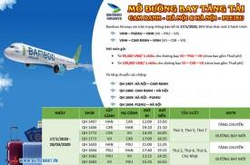 Bamboo Airways Mở đường bay VII - PXU - VII và VII - CXR - VII