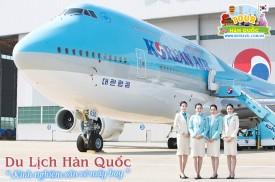 Săn vé máy bay giá rẻ đi du lịch Hàn Quốc