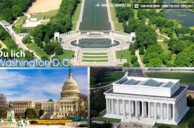 Vé  máy bay du lịch Washington D.C - Mỹ giá rẻ tại TPHCM