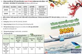 BAMBOO AIRWAYS THÔNG BÁO TĂNG CHUYẾN SGN-DAD-SGN DỊP TẾT