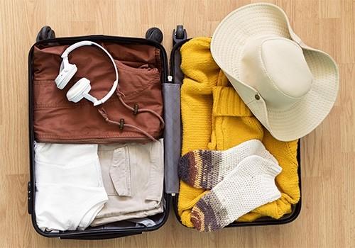 Chụp ảnh hành lý khi checkin