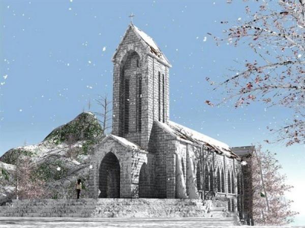 Sa Pa có thể đón mưa tuyết trong mùa đông năm nay