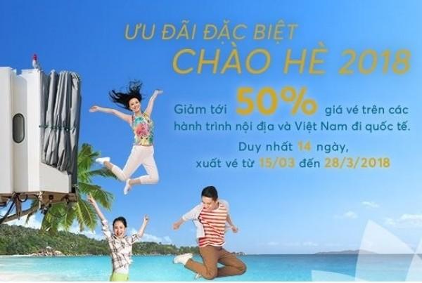 Tin Nóng, Vietnam Airlines  tung vé rẻ chào hè 2018