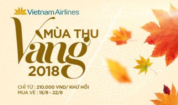 MÙA THU VÀNG VIETNAM AIRLINE 2018