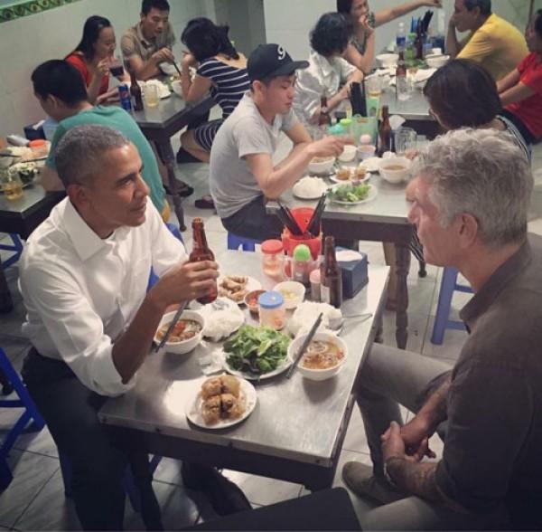 Những quán ăn bình dân vinh dự được tiếp đón các tổng thống Mỹ