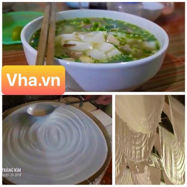 Phở Tráng Kìm – món ăn không thể bỏ lỡ khi đến Hà Giang