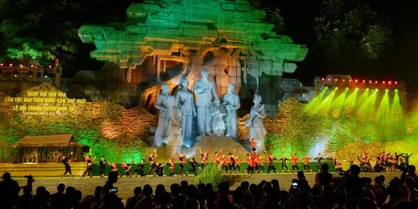 Trung Thu Tuyên Quang - Lung linh lễ hội thành Tuyên