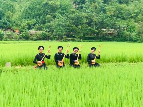 Hát then- Nét văn hóa đặc sắc dân tộc Tày huyện Lâm Bình, tỉnh Tuyên Quang