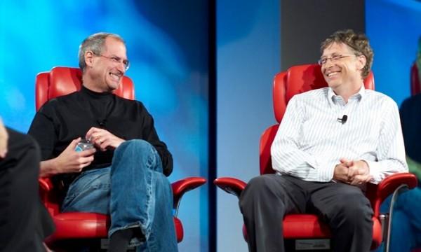 Bill Gates ngưỡng mộ Steve Jobs