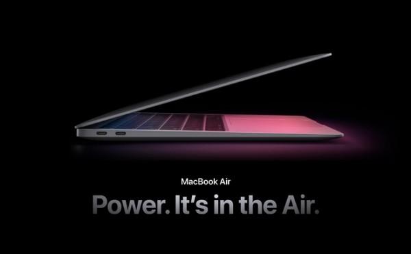 MacBook Air mới trang bị chip M1, giá từ 999 USD