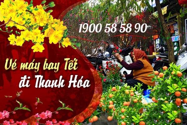 Vé máy bay giá rẻ Tết 2021 hành trình Hồ Chí Minh - Thanh Hóa