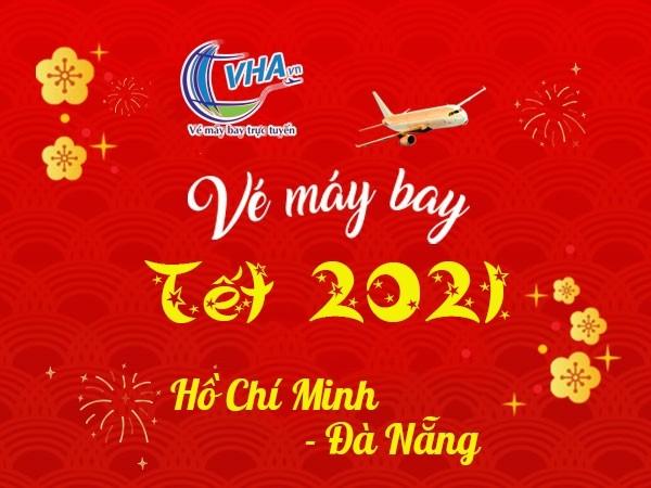 Vé máy bay  giá rẻ Tết 2021 hành trình Hồ Chí Minh - Đà Nẵng