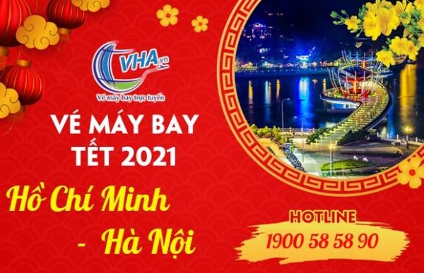 Vé máy bay giá rẻ Tết 2021 hành trình Hồ Chí Minh - Hà Nội