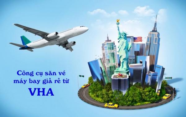 Công cụ săn vé máy bay giá rẻ từ VHA Việt Nam