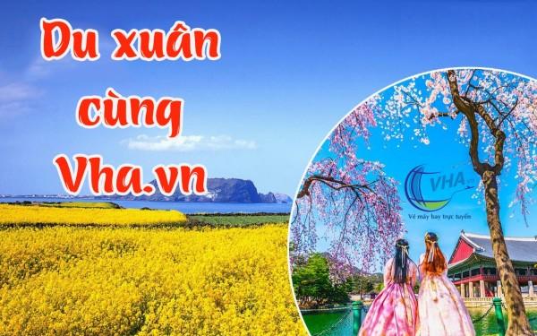 Cùng Vha.vn book vé bay giá rẻ du xuân Tết Nguyên Đán 2021