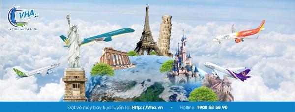 Đại lý Vietnam Airline tin cậy _ VHA.VN