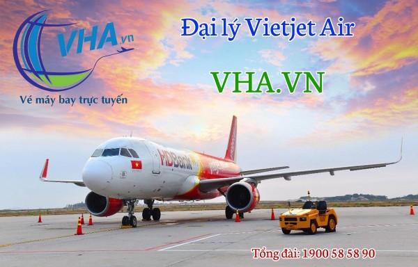 Chính thức Đại lý Vietjet Air tại Vinh