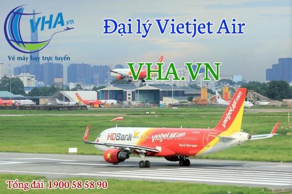Đại lý Vietjet Air giá rẻ nhất