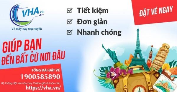 Book vé bay giá rẻ vi vu mọi miền tổ quốc tại Vha.vn