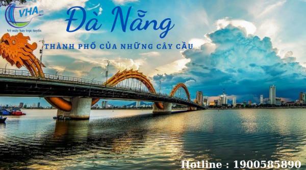 Nhanh tay book vé bay giá rẻ Hà Nội – Đà Nẵng chỉ từ 36k du xuân dịp Tết!
