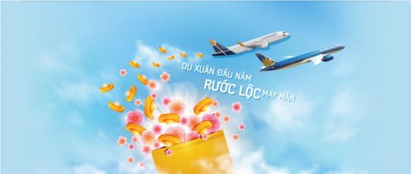 Du xuân đầu năm rước lộc may mắn cùng vé máy bay giá rẻ Vietnam airlines chỉ từ 59.000vnd/chiều!