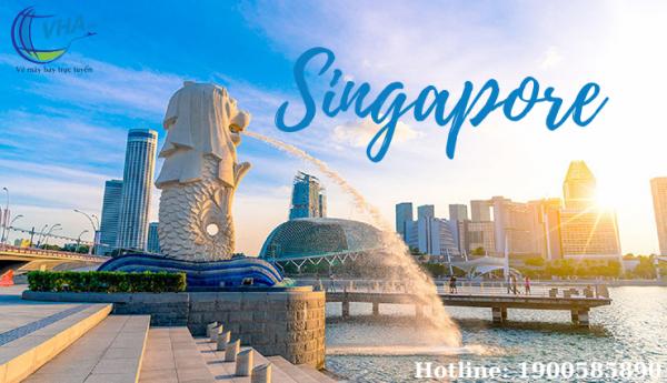 Kinh nghiệm đặt vé bay Singapore giá rẻ tại Vha.vn