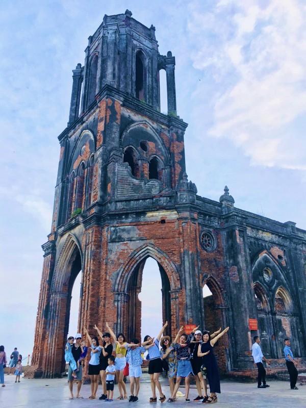 Nhà thờ đổ, điểm tham quan không thể bỏ qua khi đến Nam Định