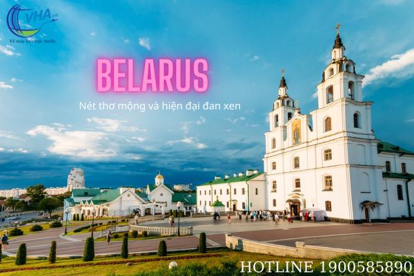 Vé máy bay rẻ nhất đi Belarus