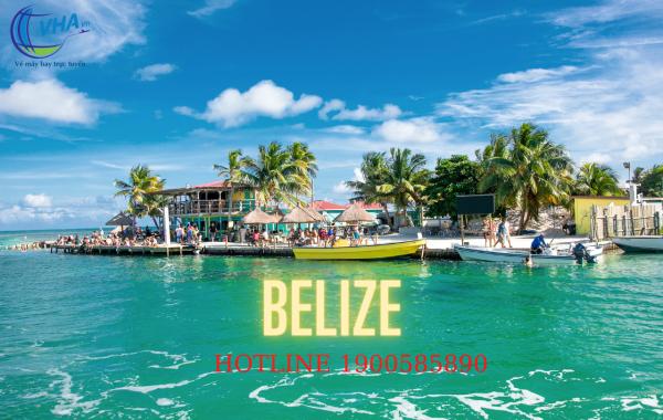 Vé máy bay giá rẻ nhất đi Belize.