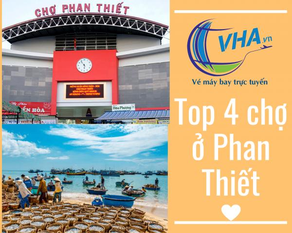 VHA mách bạn 4 khu chợ ở Phan Thiết mua sắm không cần nhìn giá!