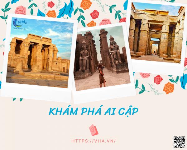 Tìm vé máy bay giá rẻ khám phá những ngôi đền cổ đại kỳ vĩ ở Ai Cập