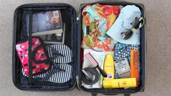 Mẹo sắp xếp hành lý thông minh