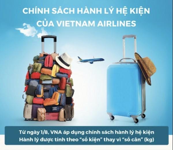 Thay đổi quy định về hành lý từ 01.08