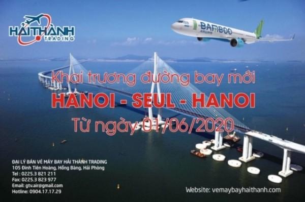 BAMBOO KHAI TRƯƠNG ĐƯỜNG BAY MỚI TỚI SEUL !