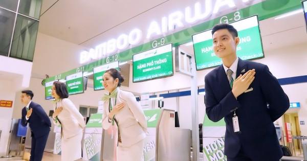 Hướng dẫn check in online vé máy bay Bamboo Airways