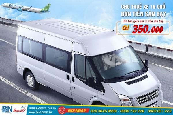 Dịch vụ đặt thuê xe đưa đón sân bay Tân Sơn Nhất TP.HCM