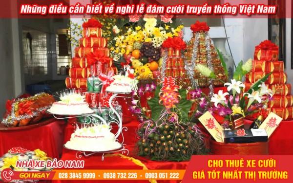 Những điều cần biết về nghi lễ đám cưới truyền thống Việt Nam